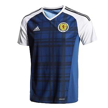 c92df1416a7 adidas Scotland Home Shirt (Kids)  Amazon.co.uk  Sports   Outdoors