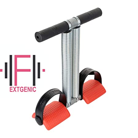 EXTGENIC  reg; Multi Colour Double Spring Tummy Trimmer Ab Exerciser Multipurpose Fitness Equipment for Men and Women
