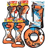 Grriggles 12 Piece XTRM Toy Pack, Blue/Orange