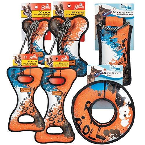 Grriggles 12 Piece XTRM Toy Pack, Blue/Orange by Grriggles