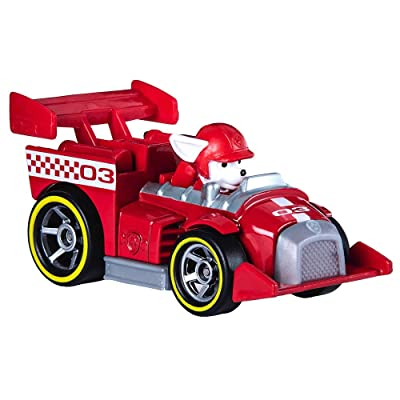 Paw Patrol Marshall Ready Race Rescue Diecast Car 1:55 Scale: Everything Else [5Bkhe1403611]