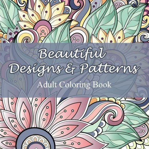 Beautiful Designs Patterns Coloring Mandala product image