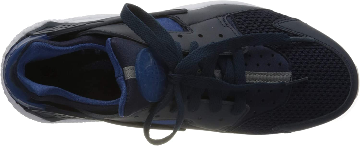 Nike Air Huarache Trainers voor heren Obsidian Gym Blauw Wit