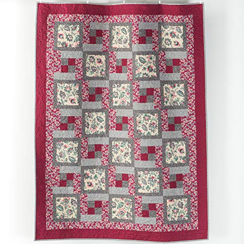 Connecting Threads Lap Quilt Kit (5-Yard Everyday Quilt)