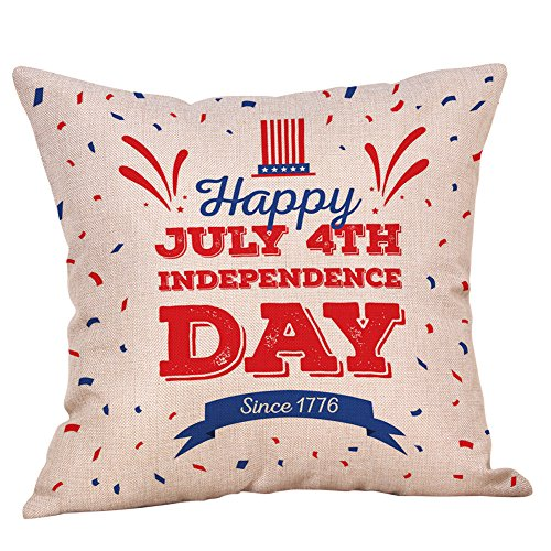 - 4Th of July Pillows Cowboy Boots Hat and American Flag Throw Pillow Covers Square Decorative Cushion Case Cover for Couch Decor 18