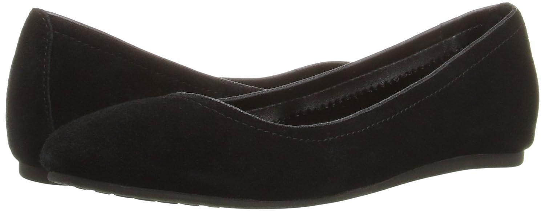 Crocs Damen Linasuedeflat Geschlossene Schwarz Ballerinas Schwarz Geschlossene (schwarz) 4fa873