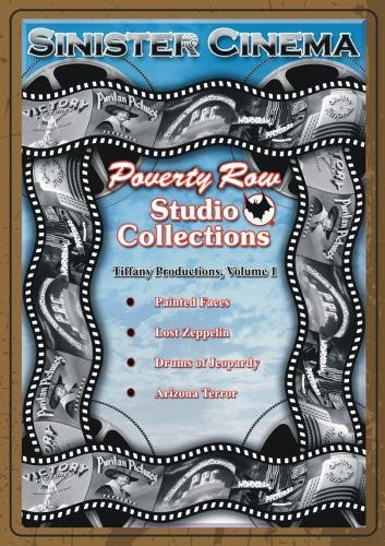 Tiffany Productions, V-1 (Painted Faces, Lost Zeppelin, Drums Of Jeopardy, Arizona Terror.)