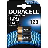 Duracell Spéciale Piles Ultra Lithium type 123, Lot de 2