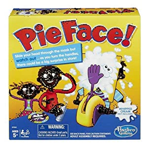 4 x Hasbro Pie Face Game