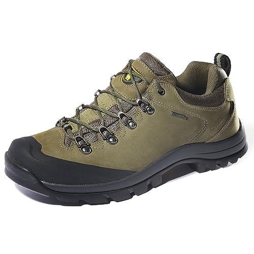 CAMEL CROWN Zapatos de Trekking al Aire Libre Low-Top Zapatillas de Deporte al Aire Libre Antideslizantes para Caminar Zapatos de Hombre: Amazon.es: Zapatos ...