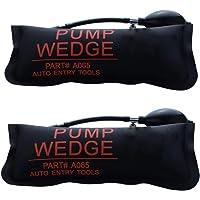URXTRAL Herramienta de alineación de la cuña del aire de la bomba Herramientas de mano potentes amortiguadas del aire de Shim inflable (Large 2PCS)