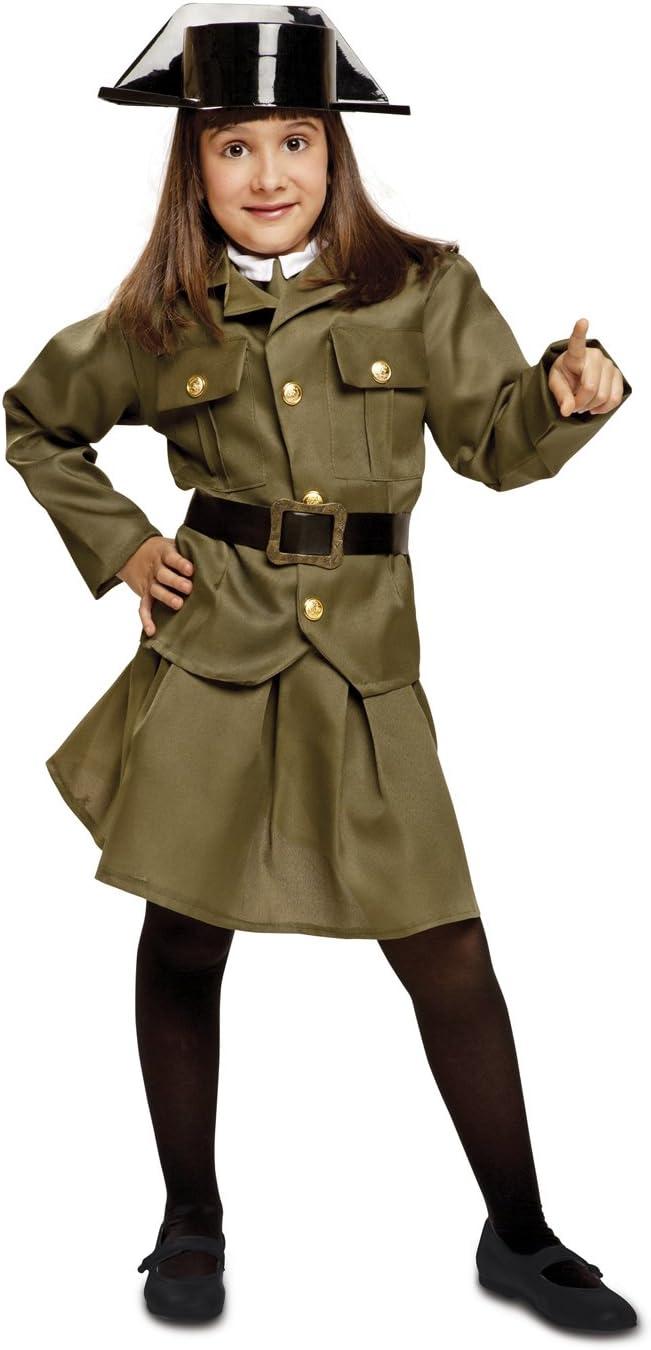 My Other Me - Disfraz de Guardia Civil para niña, Talla 3-4 años ...