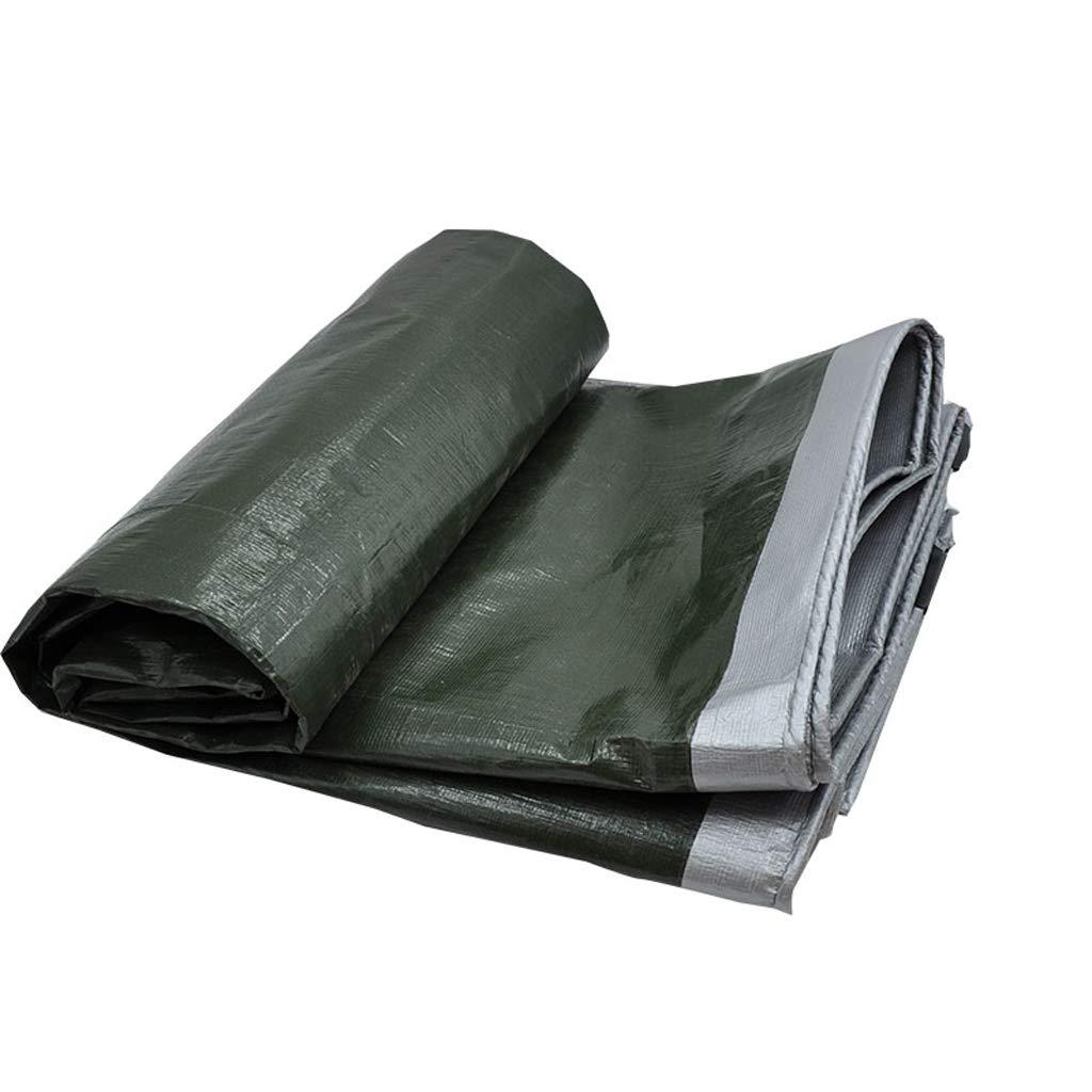 vendite online XY&CF-tarpaulin Tela impermeabilizzata Ispessita del Panno Panno Panno della Tela Solare della Tela Cerata della Protezione Solare Tela Cerata del Parasole, Varie Dimensioni 180G   M² (Dimensioni   3  5m)  sport caldi