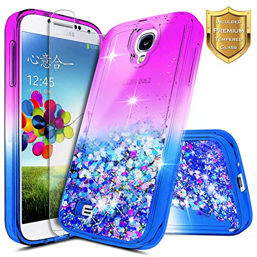 Galaxy S4 Case w/[Tempered Glass Screen Protector], for sale  Delivered anywhere in USA