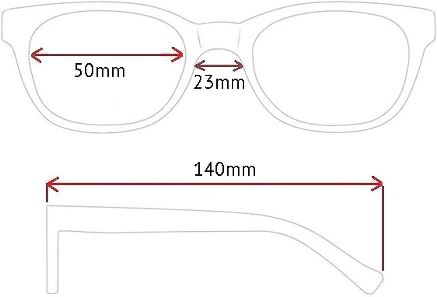 Rainbow safety Gli Occhiali Presbiopia per Lettura Uomini Donne Telaio Ultraleggeri Miami RRC 1.75D Blu