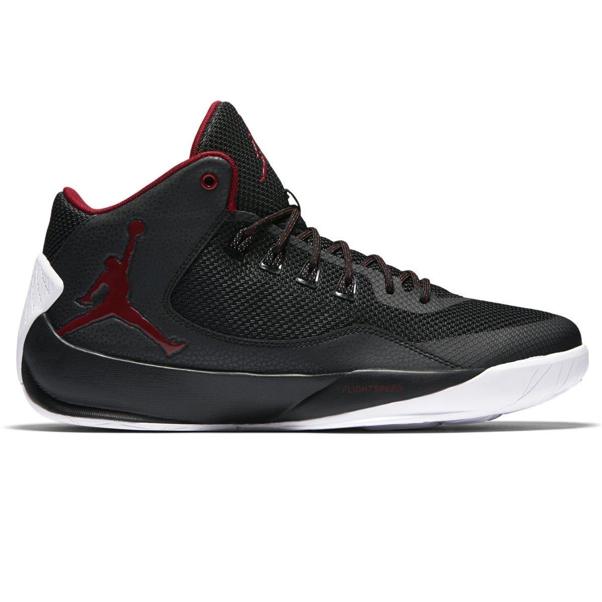 Jordan Rising High 2 Men US 11 Black Basketball Shoe by Jordan