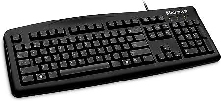 Microsoft Wired Keyboard 200, Business - Teclado (Business, USB, Negro, -10-50 °C, -30-60 °C, -22-140%, 473 x 172 x 30,1 mm)