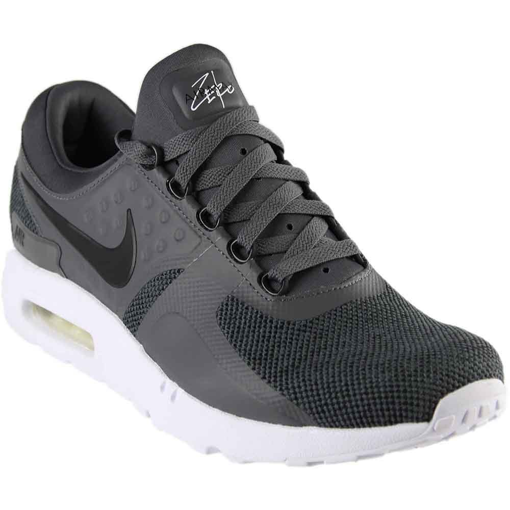 sports shoes 63713 735ab Galleon - NIKE Men s Air Max Zero SE, Black Dark Grey-White, 12 M US