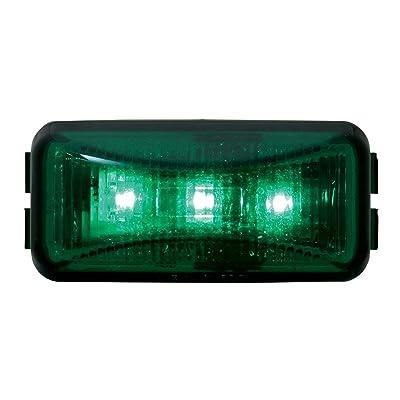 GG Grand General 87648 Green/Green Small Rectangular Led Marker Light: Automotive