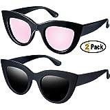 Retro Cat Eye Polarized Sunglasses Women Vintage CatEye Sun Glasses UV400 Shades