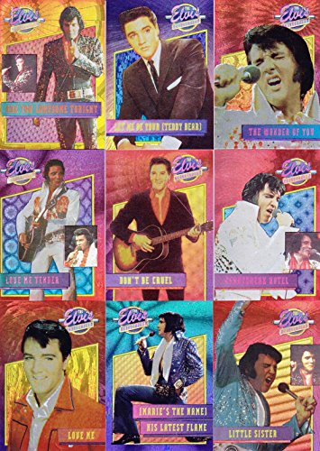 The Elvis Collection 1993 River Group Complete Dufex Foil Insert Card Set Of 40