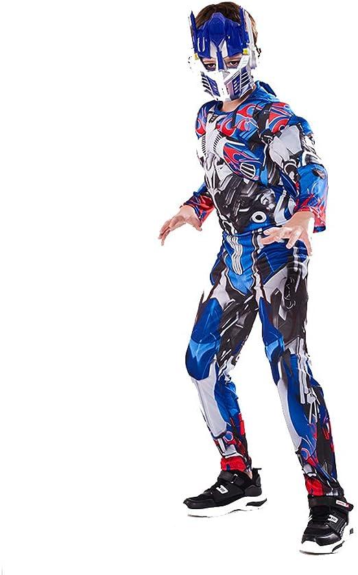 YXRL Niños Optimus Prime Cosplay Disfraces Musculares Niños Mono ...