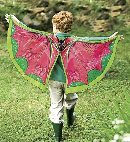 Fanciful Fantasy Flier Fabric Wings, in Dragon (Magic Dragon Costume)