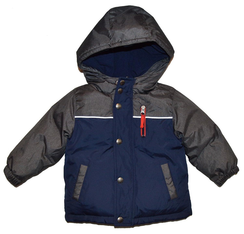 19414cdf96b8 BabyGap Baby Gap Factory Navy Gray Warmest Colorblock Puffer Jacket ...