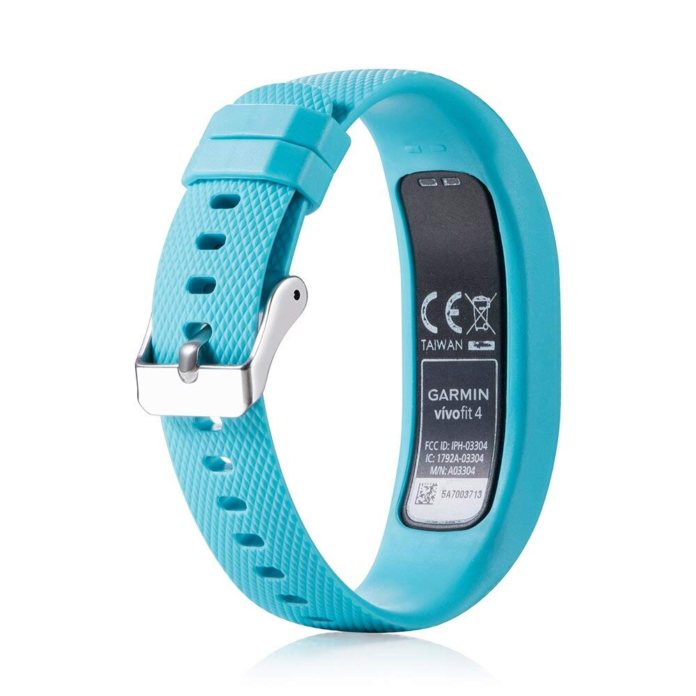 Amazon.com: Silicone Strap for Garmin Vivofit 4 Smart Watch ...