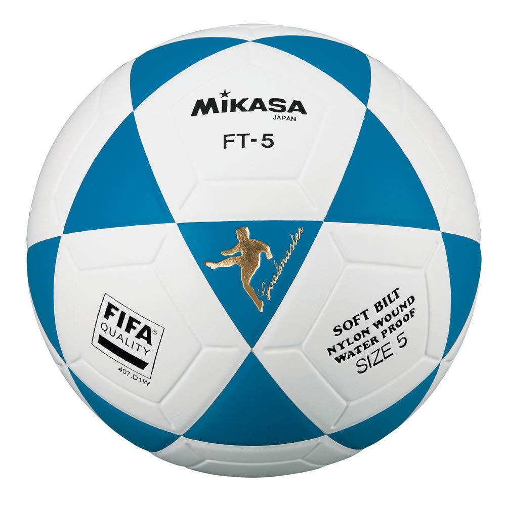 MIKASA FT5 FQ B - Balón de fútbol Especial para Adulto, Color Azul ...