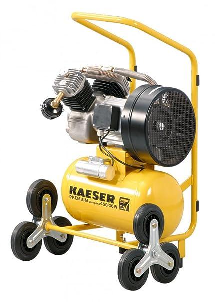 Pantalla Kaeser Compact S 450/30 W montaje compresor de aire comprimido
