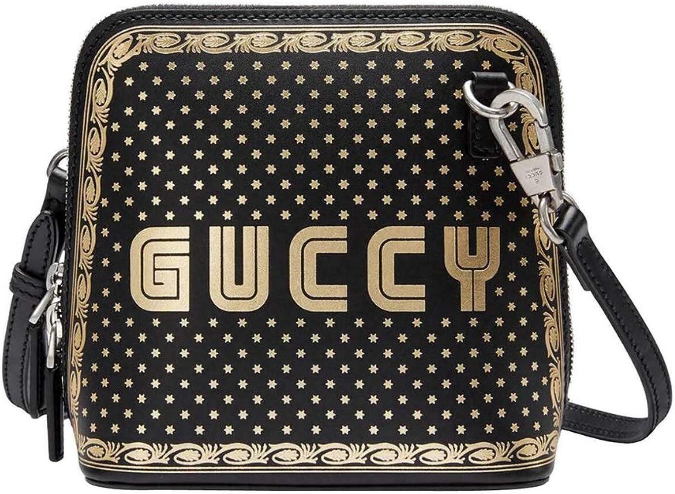 Gucci Women's Black Guccy Sega Script