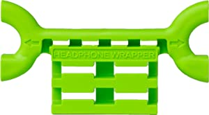 Headphone Wrapper Earbud & Cord Holder (Fresh Green)