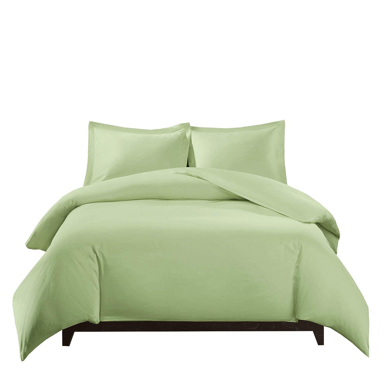 100/% Bamboo Duvet Cover Set -King//California King Solid Grey- Super Soft Viscose Duvet Covers Rayon from Bamboo