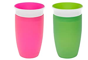 Munchkin Miracle 360 Sippy Cup, Assorted Colors, 10 Ounce, 2 Count