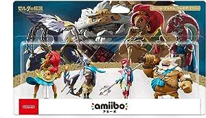 Amiibo Mipha Zora / Urbosa Gerudo / Daruk Goron / Revali Rito 4 SET The Legend of Zelda Breath of the Wild Series Japan Ver.