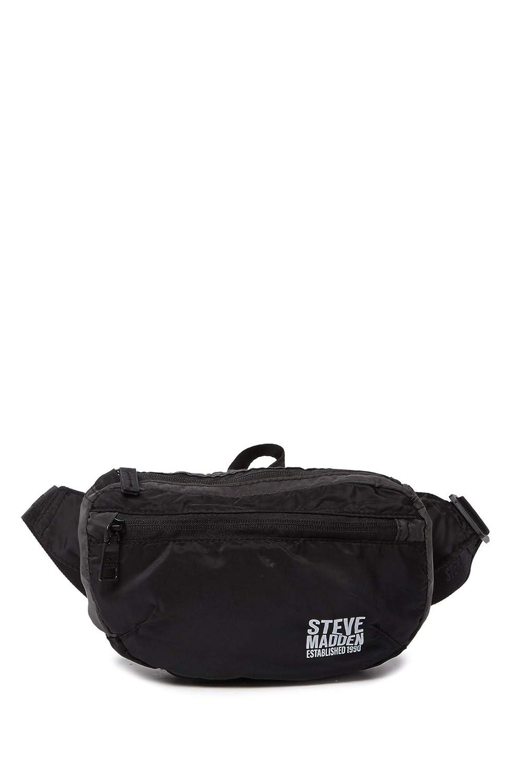 (スティーブマデン) Steve Madden コンパクトパック可能ベルトバッグ Women`s Belt Bag (並行輸入品) B07RXLGSKL BLK/MULTI One Size