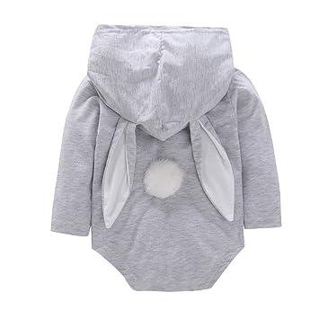 2767ab6817248d 子供服 Timsa ミニ ロンパース 新生児 女の子 ベビー肌着 ストライプ ウサギ柄 かわいい ラビットの耳