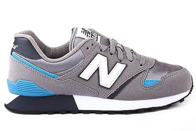 buy popular d961f 4f3f0 New Balance Mann Sneakers U446BG, 37 Grau/Blau: Amazon.de ...