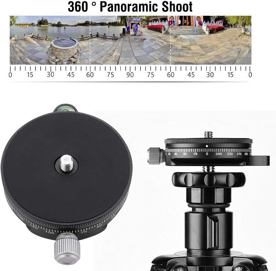 EBTOOLS FC-60 360 /° Disc Kamera Schnellwechselplatte Stativ Trennplatte f/ür DSLR