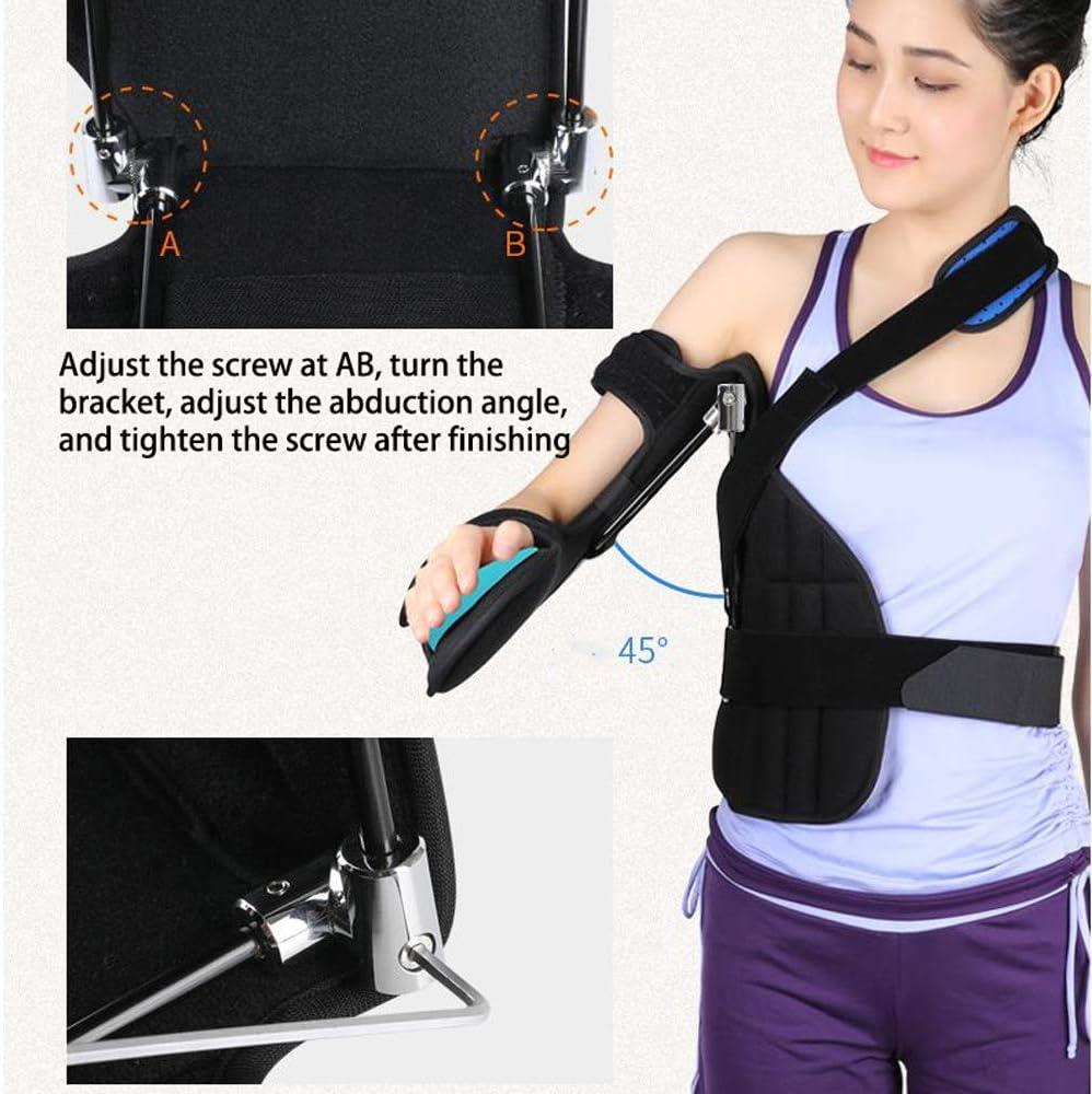 Eslinga de abducción de brazo y hombro - Fractura y dislocación de hombro Órtesis Abducción de tibia de hombro de adulto Fija para esguince dislocado de articulación