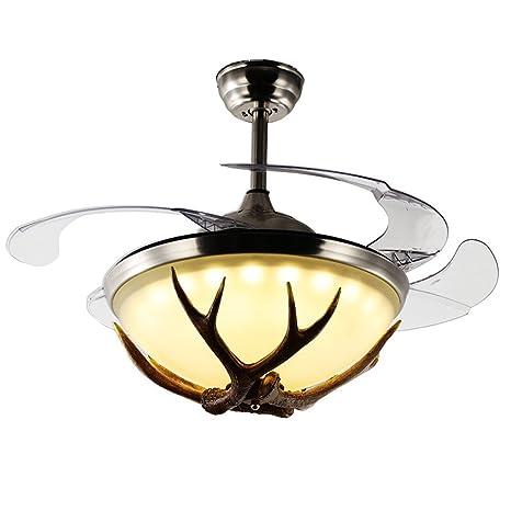 American retro ventilador luz bar industrial tienda de ropa negro restaurante decoración dormitorio sala de estar