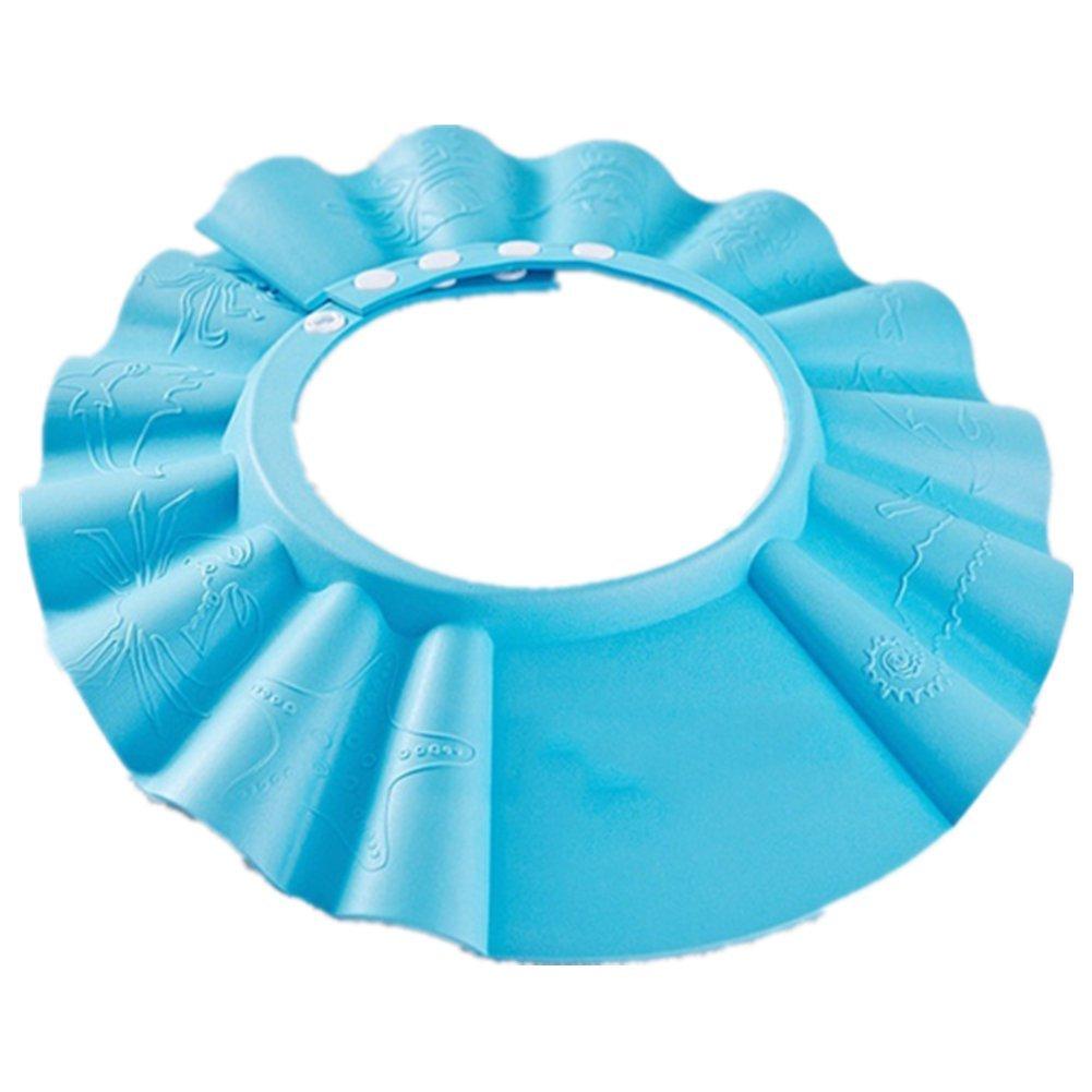 Cosanter 1pezzi Baby bambini Shampoo balneazione Doccia Pellicola Protettiva Gap Hat Wash capelli della copertura
