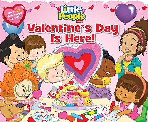 Fisher-Price Little People: Valentine's Day Is Here! (Fisher Price Lift the Flap) by Matt Mitter (2015-12-08) (Fisher Price Valentines Day Book compare prices)