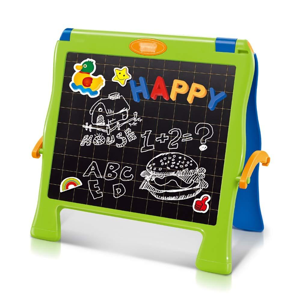Caballete BSNOWF Mini Pintura De Mesa Niños Que Dibujan Los Los Dibujan Tableros De Escritura Dos Lados Echó A Un Lado d48f6b