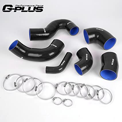 Silicone Turbo Hose Clamps Kit For FIAT COUPE 2.0 20V GT TURBO