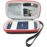 Hard Travel Case Bag for SanDisk Extreme Portable SSD 250 GB / 500 GB / 1 TB / 2 TB by SANVSEN (red)