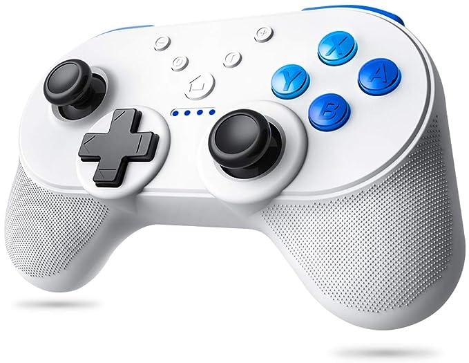 El controlador inalámbrico de funcionalidad NFC de LREGO para Nintendo Switch, Amiibo es compatible con