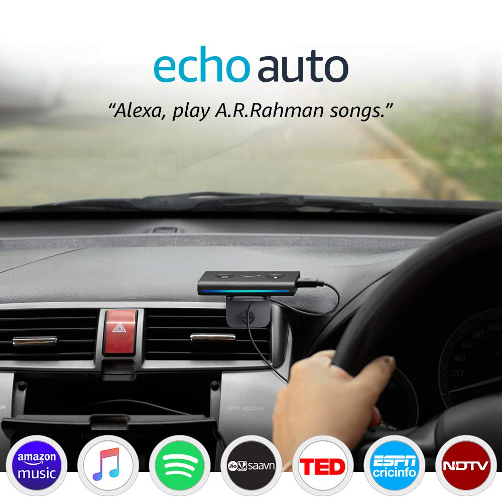 Echo Auto – Add Alexa to your Car for ₹3,499
