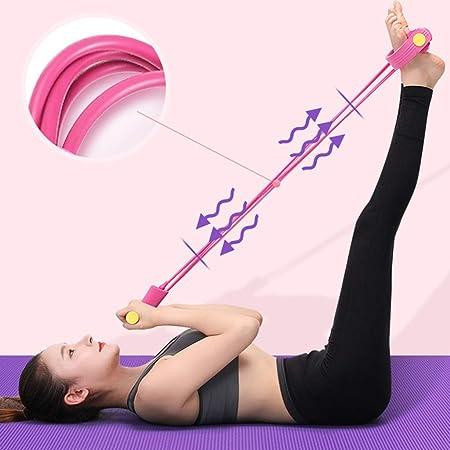 LMMSP Abdominales Cuerda Elástico del Hogar Yoga Sentarse En ...